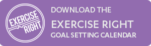 ER goal setting button