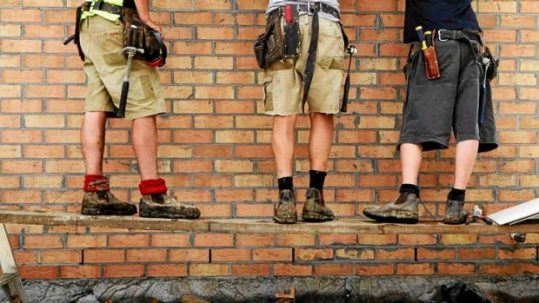 Tradies and Exercise