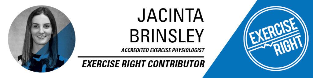Exercise Physiologist - Jacinta Brinsley