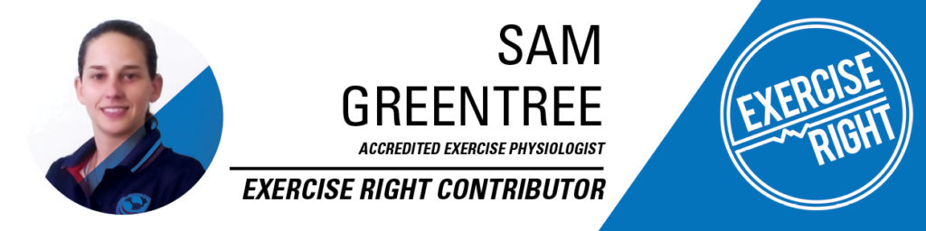Sam Greentree - exercise physiologist