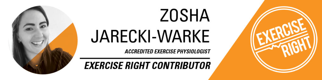 Zosha - exercise physiologist