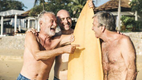 strength training older men