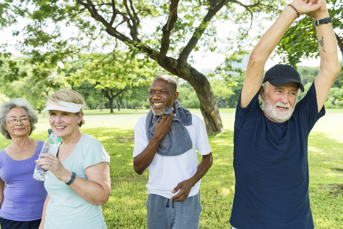exercise outdoors ageing