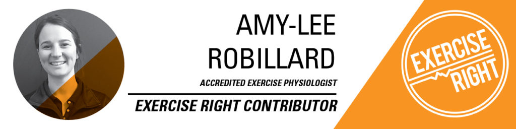 Amy-Lee Robillard exercise physiologist