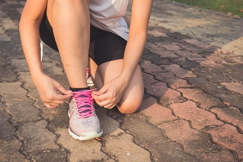 start running after a baby