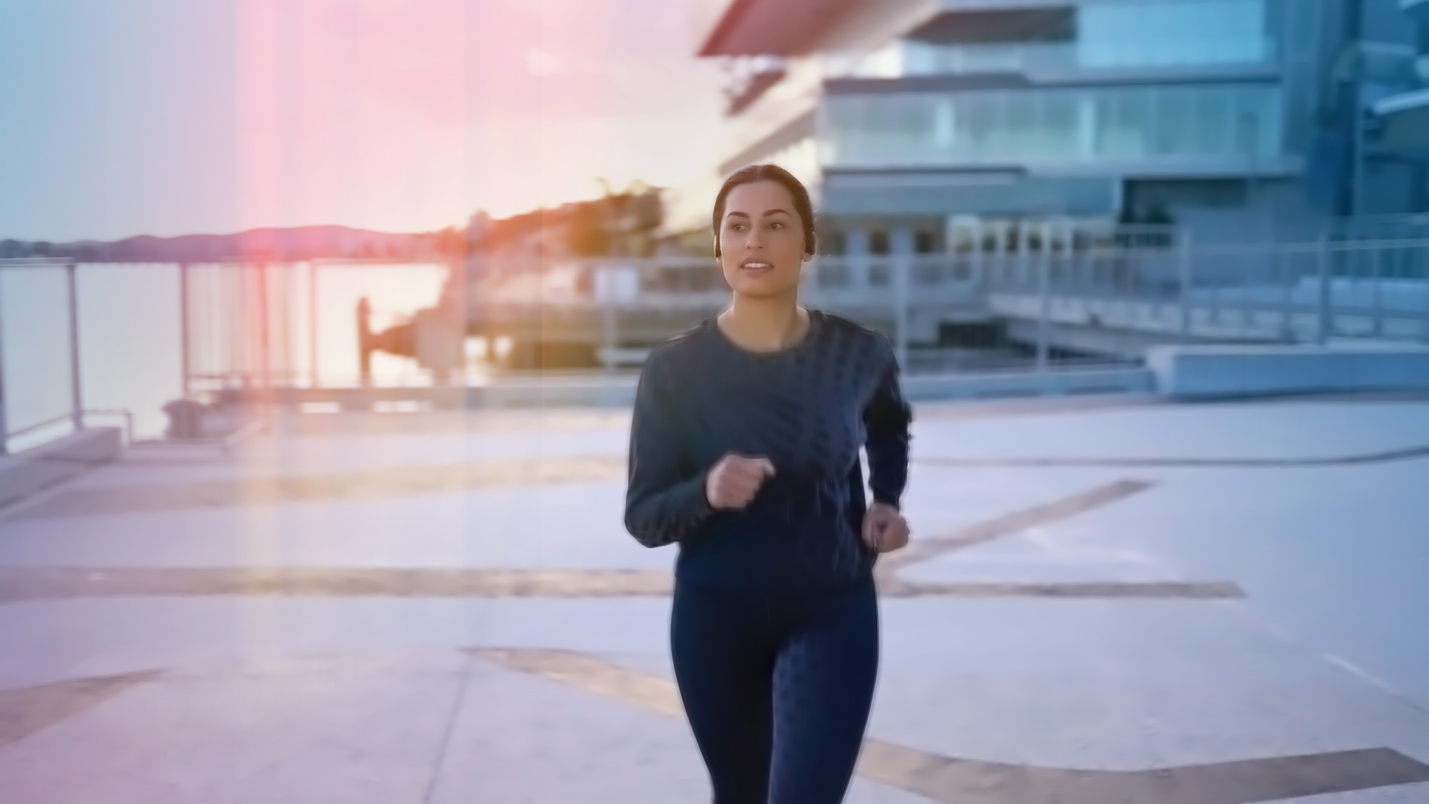 Mindful running for stress 3